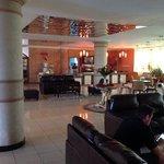 Lounge area next to 3rd Floor restaurant