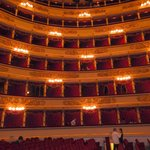 The interior of La Scala