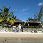 Hotel vue de la plage à ses pieds