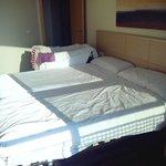 Apartamento 2 habitaciones.Habitación doble.
