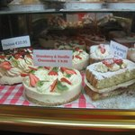 Lots of Desserts to take home from the Deli/Bakery