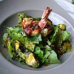 Parma Wrapped Prawn Salad at Favola...Bellissima e molta deliziosa!!