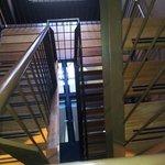 escalier de l'hôtel
