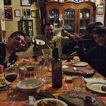 Abendessen mit Dario und seiner Familie
