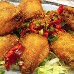 salt and chili Wings