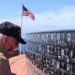 Watching my grandfather read all the plaques really touched me. He is a POW of the Korean  War.