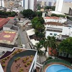 view from our room - contrasts of salvador !