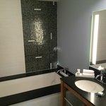 big and clean bathroom