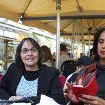 Aguardando bacalhau em Casa Brasileira - Rosário e Sandra