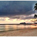 Abendstimmung am White Sand Beach .... Menschenleer so wie immer