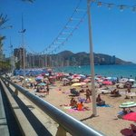 View from Benidorm Old Town