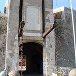drawbridge entrance to Citadelle