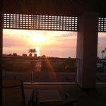 Salida del sol desde el dormitorio principal. Genial!!!