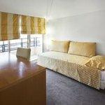5 pièces Duplex chambre single avec balcon