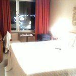 modernised room still looks a bit dated