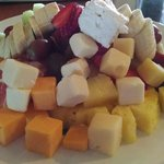 Fruit & Cheese Tower
