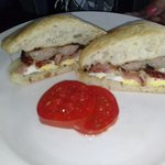 Irish Breakfast sandwich