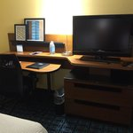 In-room work area