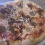 Pizza at Peristyle