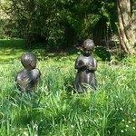 Bespoke sculptures in the gardens