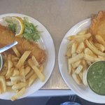 Small fish and chips !!!