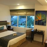 Vista de laiya room. The only spacious room they have I believe.