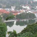 Panorama of Kandy