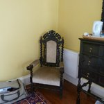 Old furniture in room
