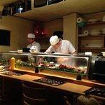 great sushi chefs in action