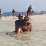 Us chilling on Bamboo Island xx