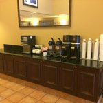 Complimentary Coffee in lobby
