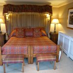 Large Bed in Morayshire suite