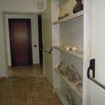 particolare corridoio 1° piano