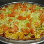 Our taco pizza