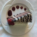 Chocolate Mousse Torte - Room Service