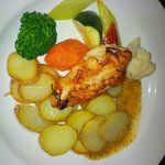 Grilled Herb Marinated Chicken Breast - Room Service
