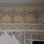 Les stucs peints.