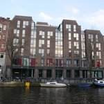 The Andaz from across the canal