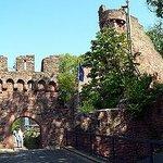 Gaststätte Burgterrasse auf der Burg Clingenburg