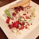 Excellent salad from Vidalia's Restaurant!