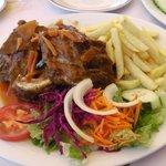 Spare ribs in Jack Daniels sauce