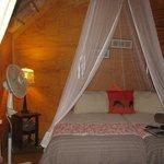 Bush cabin boudoir