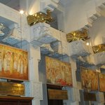 Paintings depicting history of the Tooth