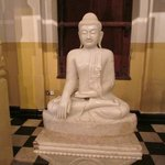 Sculpture donated by a Buddhist country
