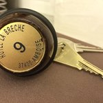 Charming old keys