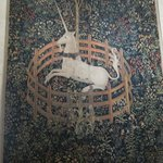 Famous unicorn tapestry