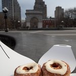 Eat Your Cronuts at Washington Square Park
