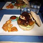 hamburger végétarien français