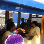 Ooty to MTP 2S (5 + 5 seats) - Inside view