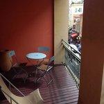 Balcón habitación 214